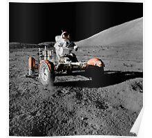 Moon Buggy!  Apollo 17 Lunar Rover Poster