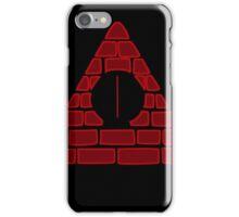Pyramid Dorito - Red iPhone Case/Skin