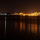 Coal Port At Night by bazcelt