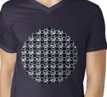 Sparkling Web Mens V-Neck T-Shirt