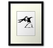 Air Force One Riot Framed Print