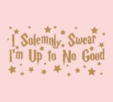 I solemnly swear that I am up to no good. Baby Tee