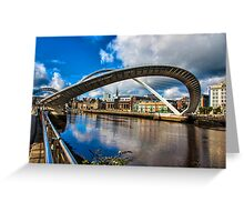 Millenium Bridge Opening Greeting Card