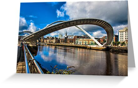 Millenium Bridge Opening by Trevor Kersley