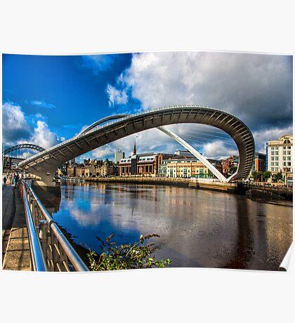 Millenium Bridge Opening Poster