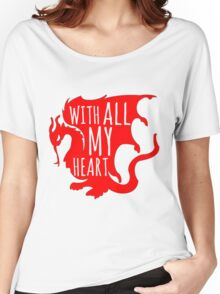 Merlin With All My Heart Dragon Women's Relaxed Fit T-Shirt