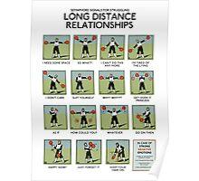 Long Distance Relationships poster - Struggling Poster