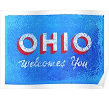OHIO Welcomes You Poster
