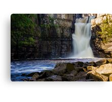 Smooth Water at High Force Canvas Print