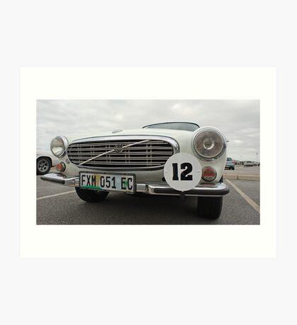No 12 Volvo 1954 Art Print