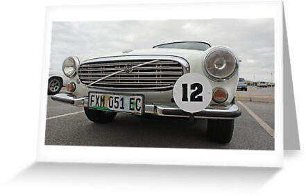 No 12 Volvo 1954 by Warren. A. Williams