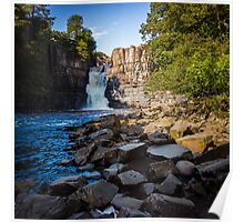 High Force Waterfall Poster