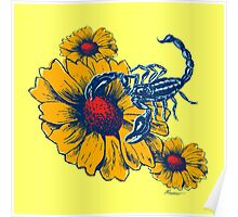 Scorpion Flowers Poster