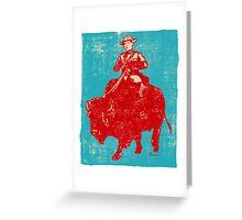 Border Patrol - Canada / Buffalo Greeting Card