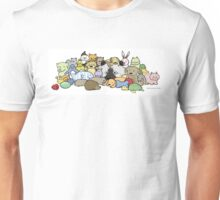 Keeshond with Toys Unisex T-Shirt