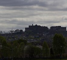 The splendor of Edinburgh Castle, located on a height overlooking all of Edinburgh by ashishagarwal74