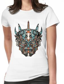 Darth Maul Womens Fitted T-Shirt