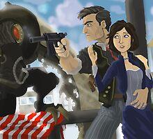 Bioshock Infinite by Adam Leonhardt