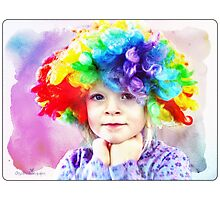 Colors of childhood Photographic Print