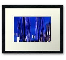Blue Wraith Framed Print