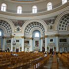Inside the Mosta Dome church Malta by Joyce Knorz
