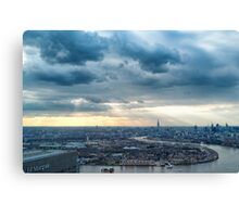 Forty Floors Up Canvas Print
