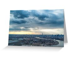 Forty Floors Up Greeting Card