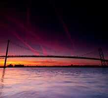 Ambassador Bridge by Cale Best