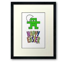 HAPPY EASTER 02 Framed Print