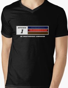 Studio 1 - Transmission Mens V-Neck T-Shirt
