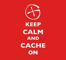 KEEP CALM and CACHE ON 1 Unisex T-Shirt
