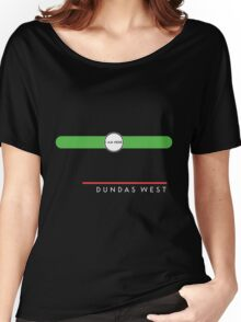 Dundas West station Women's Relaxed Fit T-Shirt