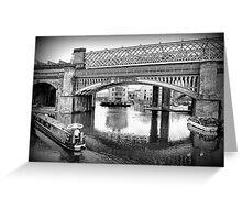 Castlefield Railway Viaduct. Greeting Card