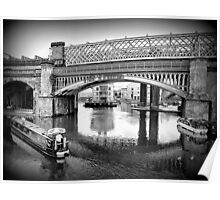Castlefield Railway Viaduct. Poster