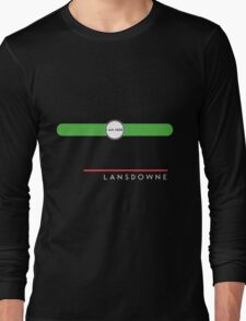 Lansdowne station Long Sleeve T-Shirt