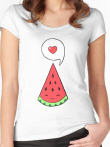 Watermelon 2 Women's Fitted Scoop T-Shirt
