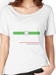 Dufferin station Women's Relaxed Fit T-Shirt