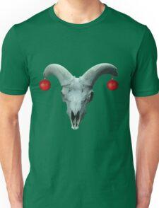 Skull earrings Unisex T-Shirt