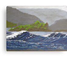 Corryvreckan Canvas Print