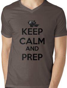Keep Calm And Prep Mens V-Neck T-Shirt