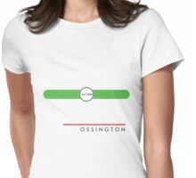 Ossington station Womens Fitted T-Shirt