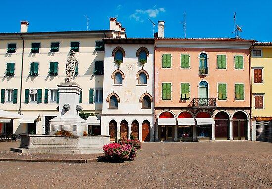 Piazza Paolo Diacono, Cividale by jojobob