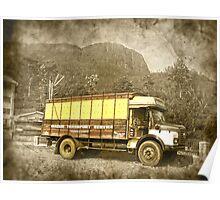 tea lorry Poster