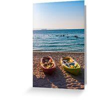 Samae Beach Greeting Card