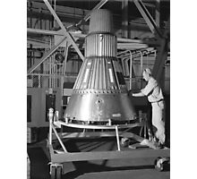 Project Mercury - Capsule #2 Photographic Print