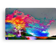 One Tree Thrice - DOS Canvas Print