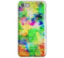 Painted Brick Wall iPhone Case/Skin