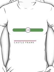 Castle Frank station T-Shirt