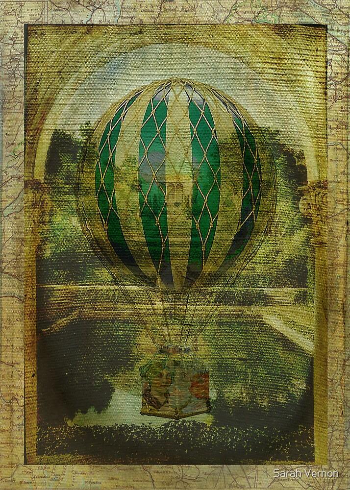Hot Air Balloon Voyage by Sarah Vernon