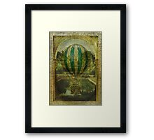 Hot Air Balloon Voyage Framed Print